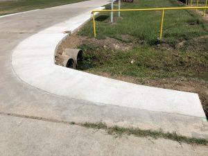 commercial concrete curbing
