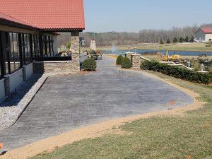 concrete for restaurant